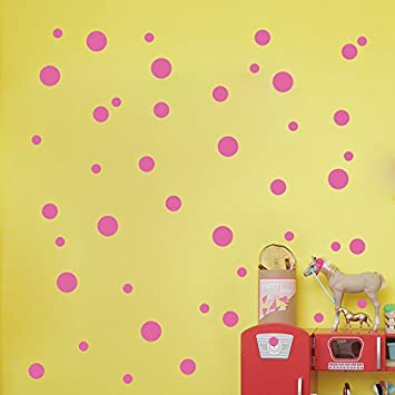 252 Pcs 1.57Inch//4cm Removable Polka Dots Wall art Decals DIY Vinyl Circle Dot Wall Stickers for Nursery Rooms Wall Decoration Kids Girls Bedroom Living Room Bathroom Offices School Classroom Black