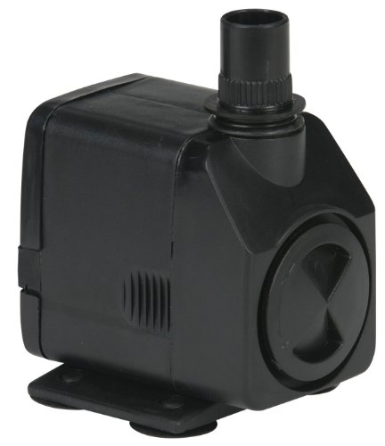 Pw Mag Drive - Little Giant 566716 130 GPH Submersible Magnetic Drive Statuary Fountain Pump, 11 Watts
