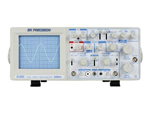 Sweep Oscilloscope - B&K Precision 2125C Analog Oscilloscope, Delayed Sweep, 30 MHz Bandwidth