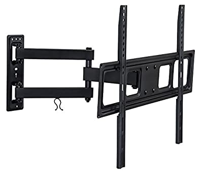 Mount-It! MI-3991L Wall Mount Bracket with Full Motion Articulating Arm 17-Inch Extension for 37-70 Inches LED, LCD OLED TVs, VESA 600x400
