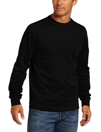 Carhartt Men's Sweater Knit Crewneck Relaxed Fit,Black  (Closeout),Large ()