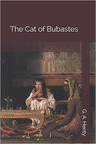 The cat of Bubastes - cover