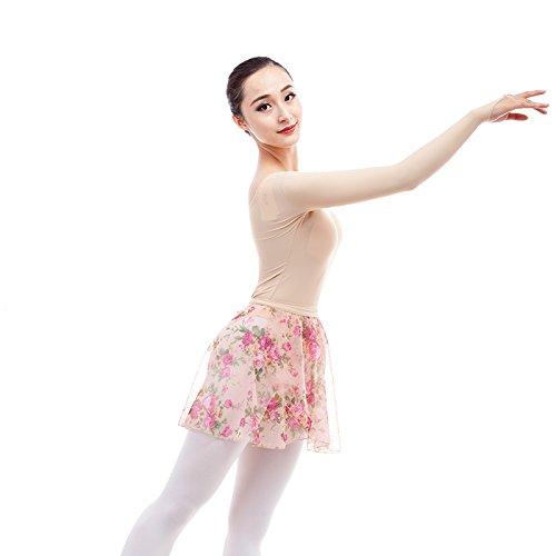 embiofuels (TM) Mujer desnuda Ballet maillot ropa interior Manga Larga Color Sólido Ballet Training danza desgaste microfibra gimnasia leotardos: Amazon.es: ...