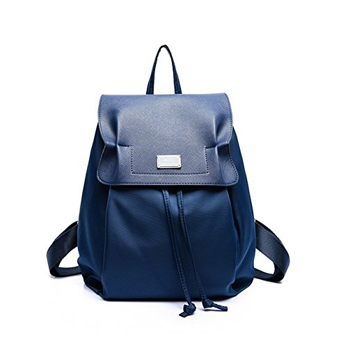 St.Roma - Bolso mochila  de nailon para mujer Talla única azul