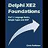 Delphi XE2 Foundations - Part 1