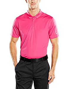 Nike Golf Victory Solid Polo (Vivid Pink/White) 2XL