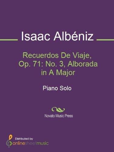 Recuerdos de Viaje, Op.71 (Albéniz, Isaac)