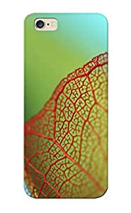 Iphone 6 Plus Case, Premium Protective Case With Awesome Look - Translucent Leaf(gift For Christmas)