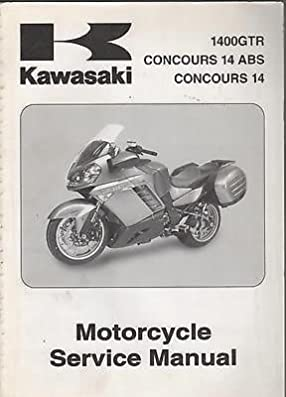 2008 kawasaki motorcycle concours 14 abs p n 99924 1379 01 service rh amazon com 2008 Kawasaki Ninja 2008 Kawasaki Concours Craigslist