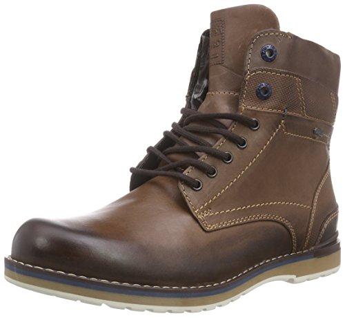 FRETZ men Cooper - botas de caño bajo de cuero hombre marrón - Braun (82 cavallo)