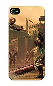Iphone 5/5s Ikey Case Cover Skin : Premium High Quality Mortal Kombat X Fighting Fantasy Warrior Action (27) Case(nice Choice For New Year's Day's Gift)