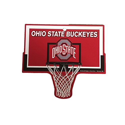 WinCraft Ohio State Buckeyes NCAA Basketball Hoop Street Sign ...