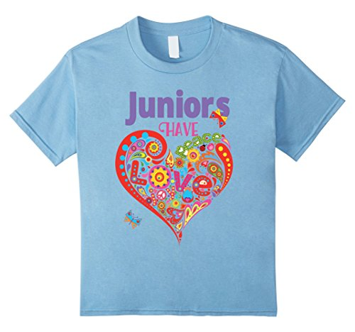 unisex-child Juniors Have Heart -- Scout Bridging Gift High School tshirt 12 Baby Blue