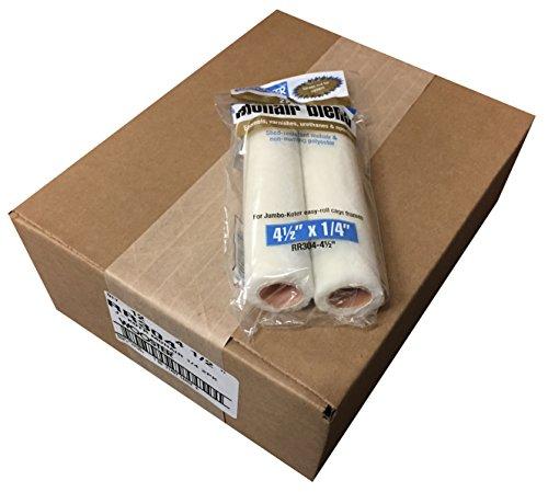 Wooster Brush RR304-4-1/2 Jumbo-Koter Mohair Blend Roller 3/8-Inch Nap, 2-Packs, Pack of 12 ()