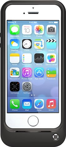 buy popular 5be51 9ccd4 OtterBox Resurgence Power/Battery Case for Apple iPhone 5 / 5S / 5SE (Black)