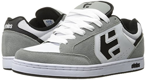 Etnies Swivel, Color: Grey/White, Size: 39 EU (7 US / 6 UK)