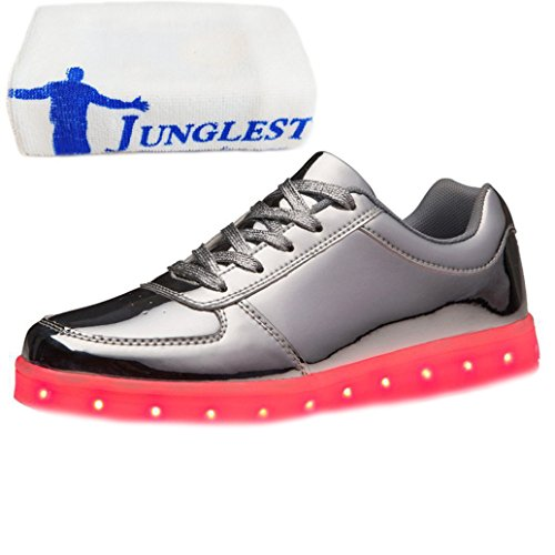 Led Shoes Argento Presente Carica Asciugamano Donna Up Junglest Uomo Light Piccolo Usb vqP0Xvw