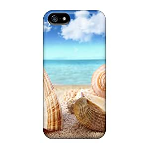 New Customized Design Shell Coast For Iphone 5/5s Cases Comfortable For Lovers And Friends For Christmas Gifts