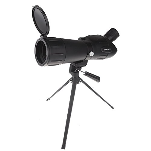 Go Out Camping HD Shooting Birdwatching Binoculars With A Telescope Tripod 20-60X60 Zoom Adjustable Monocular Telescope Spotting Scope (Park Sink Chest)