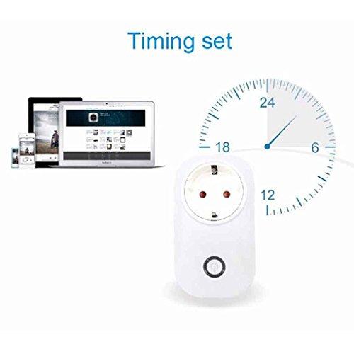 S20 SmartSocket Wireless connettore per telecomando Home Automation Socket per interruttori remoti per iPhone e smartphone Andoid (spina dellUE)