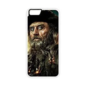 Pirates of the Caribbean iPhone 6 4.7 Inch Cell Phone Case White Phone cover P567701