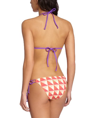 Little Marcel - Bikini para mujer Graphic Square Corail