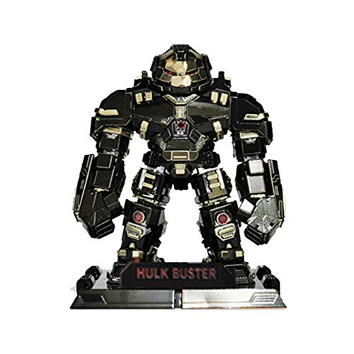 3D Inno Metal Model Hulk Buster SD (Black) ()