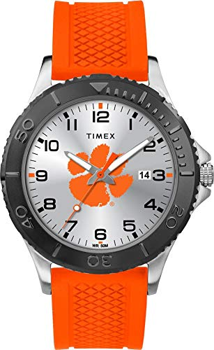 (Timex Men's Clemson University Tigers Gamer Watch Silicone Watch)