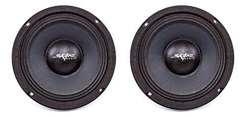 NEW SKAR AUDIO FSX65-4 6.5-INCH 4 OHM 300W MAX CAR PRO AUDI
