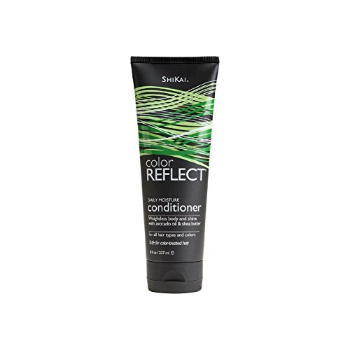 Shikai Products Color Reflect Daily Moisture Conditioner, 8 Fluid Ounce