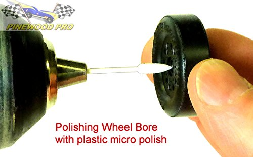 Pinewood Derby PRO Wheel Bore Polishing Kit