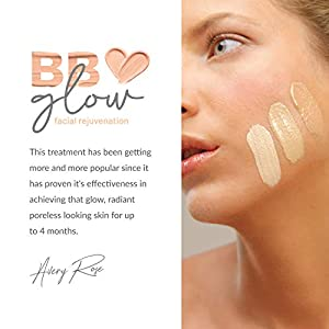 Avery Rose BB Glow Serum 12 vials with Serum treatment kit 12 vials of different serums Perfect face care starter kit (BB GLOW+SERUM) (Tamaño: BB GLOW+SERUM)
