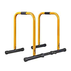 Well-Being-Matters 41DBzz0qU2L._SS300_ RELIFE REBUILD YOUR LIFE Dip Station Functional Heavy Duty Dip Stands Fitness Workout Dip bar Station Stabilizer…