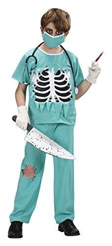 Er Surgeon Costumes (Children's Scary Surgeon Costume Large 11-13 Yrs (158cm) For Er Gp Hospital)