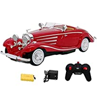 Zest 4 Toyz 1:12 Scale Remote Control Classic Toy Car - Red