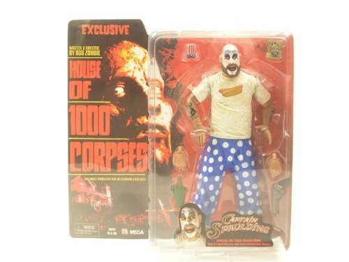- NECA Cult Classics Exclusive Action Figure Captain Spaulding House of 1000 Corpses