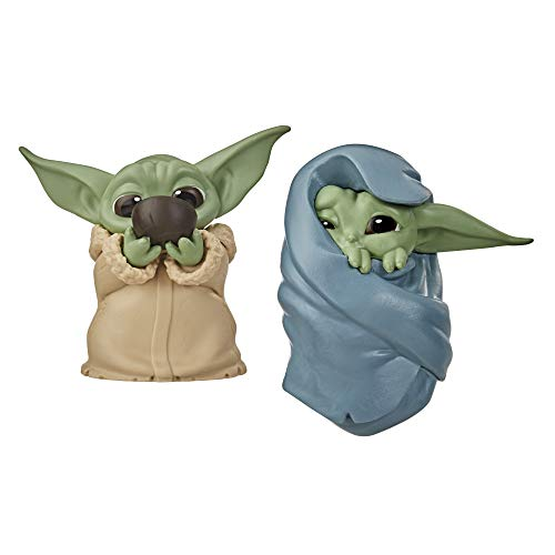 """🥇 Star Wars The Bounty Collection The Child Collectible Toys 2.2-Inch The Mandalorian """"Baby Yoda� Sipping Soup"""
