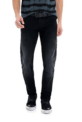 Pantaloncini Slim Jeans Salsa Nero Pantaloni carrot xA6Cwgq8