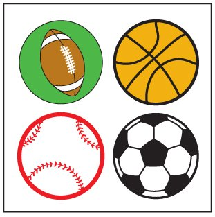 Sports Incentive Stickers - Pack of - Sports Incentive Chart