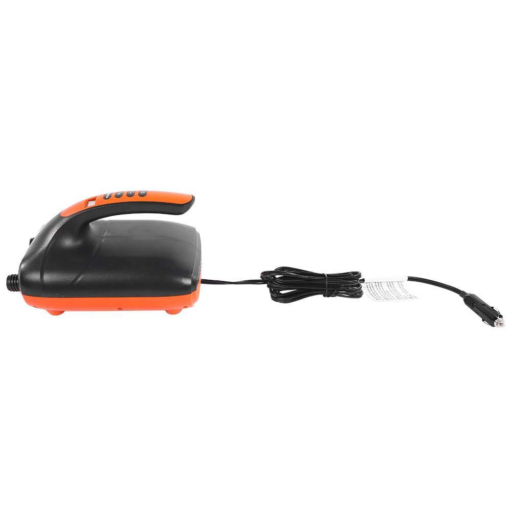 VGEBY1 Elektrische Luftpumpe 12V Hochdruck Digital SUP /& Paddle Board Kajak Inflatorpumpe