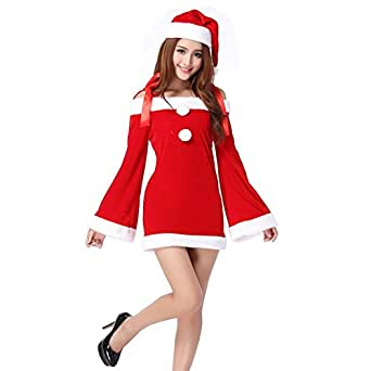 Amazon.com: TEMPT Womens Sexy Christmas Costumes Off