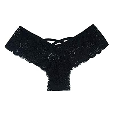 Panties Underwear Hipster Panties Sexy G-String Lace Briefs for Women (4 Pack) at Women's Clothing store