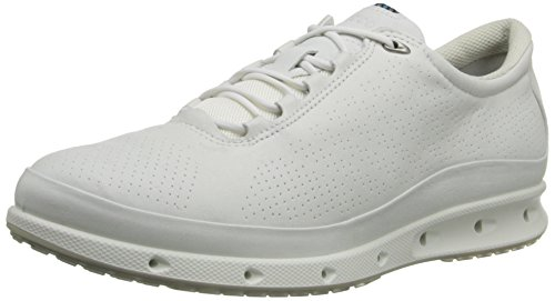 ECCO Women's Cool Gore-Tex Walking Shoe, White, 40 EU/9-9.5 M US