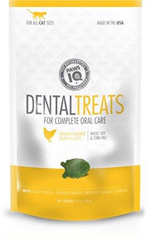 Chicken Treats Paws (Paws IQ Cat Dental Treats - Chicken Flavor, 5.5oz)