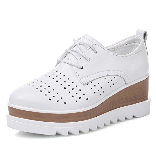 Primavera Viento Zapatos Brock De Inglaterra,Zapatos De Plataforma De Espesar,Zapatos Plano Finos Cuero,Calzado Casual A