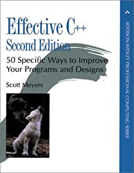 Effective C++: 50 Specific Ways to Improve Your Programs and Design (2nd Edition) (Addison-Wesley Professional Computing)