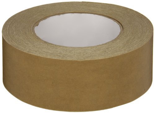 Intertape Polymer Group 539 Synthetic Rubber Medium Grade Flatback Adhesive Tape, 0.18mm Thick x 54.8m Length x 48mm Width, Brown, Case of 24 Rolls by Intertape