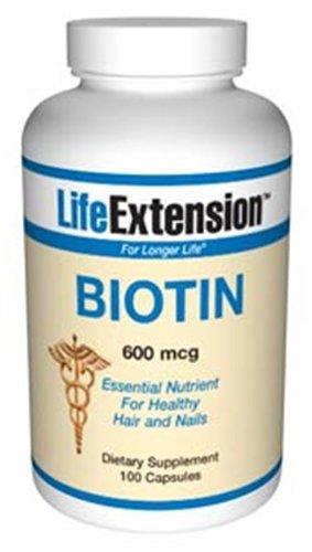 Biotin 600mcg 100 Capsules Pack product image