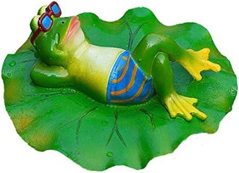GDC Estatuas de jardín – Estatua Decorativa de Rana para decoración de jardín, decoración para el hogar, Escritorio, jardín, Estatua de Ranas flotantes de Resina Creativa, 04, Chi: Amazon.es: Hogar