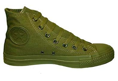 b22247c535a702 coupon code for converse chuck taylor all star canvas high top olive green  monochrome 1u679 mens